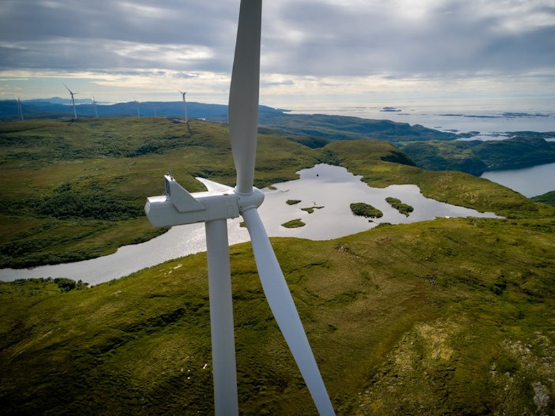 Viking Onshore Wind Farm, Scotland