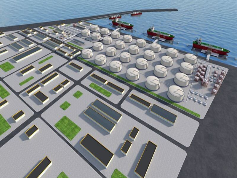 Yantai LNG Receiving Terminal