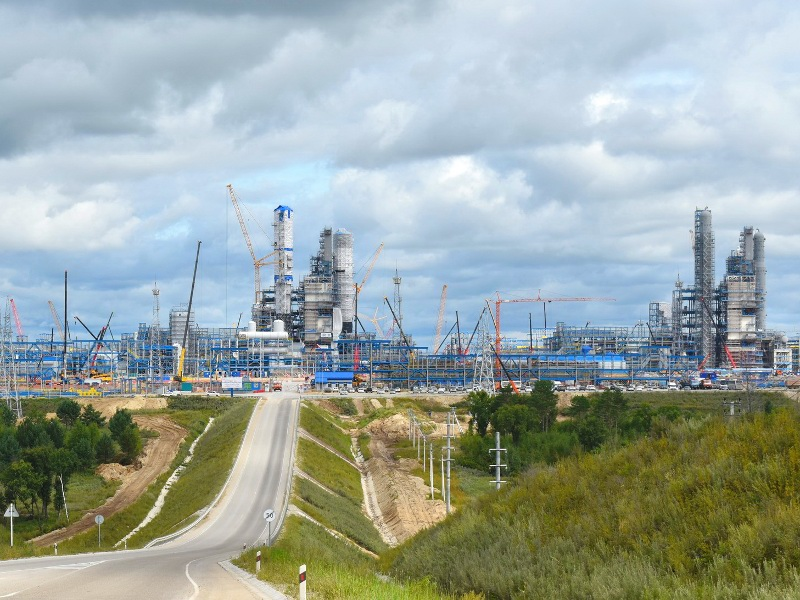 Image 2-Amur Gas Processing Plant