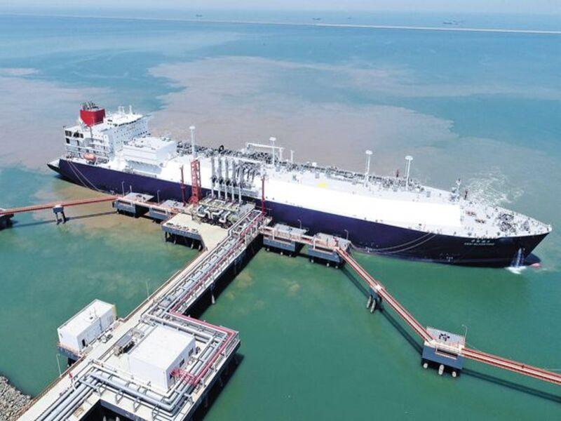 Image 2-Tianjin LNG Receiving Terminal China