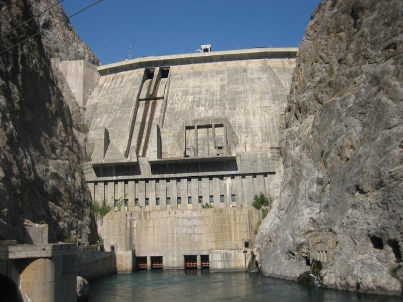Image 2-Toktogul Hydropower Plant Rehabilitation
