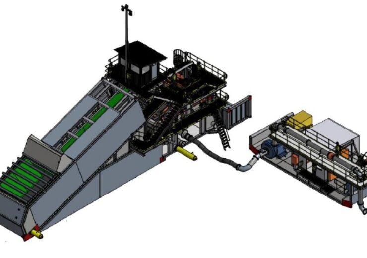dozer mining unit