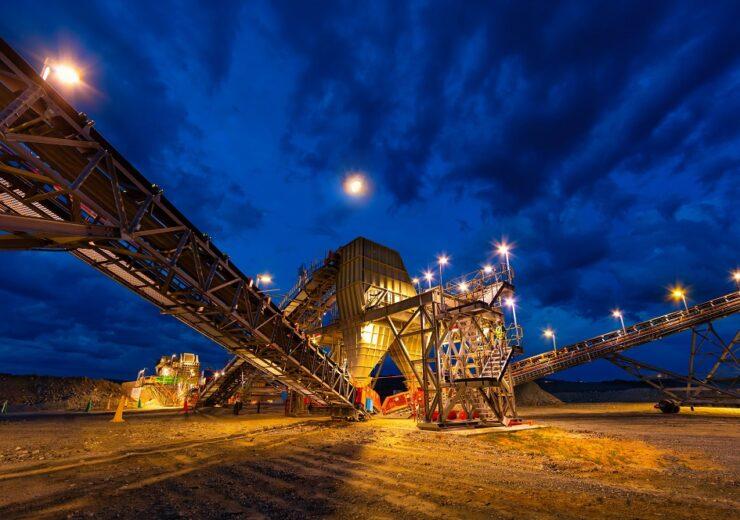 Anglo American - platinum bulk ore sorter - Mogalakwen South Africa