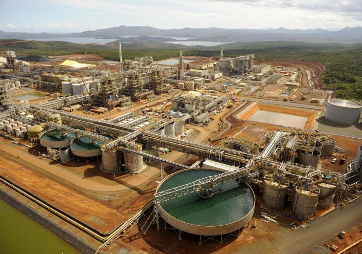 Goro nickel project New Caledonia - Vale Agency