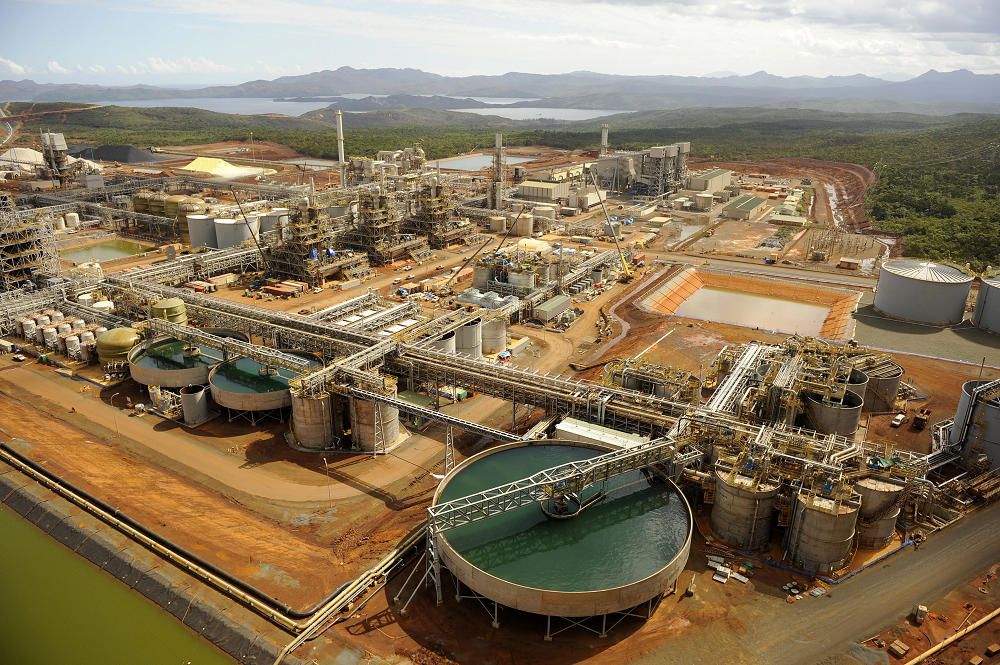 Vale's Goro nickel project in New Caledonia (Credit: Vale Agency)