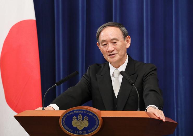 Japan prime minister Yoshihide Suga - WC Government of Japan