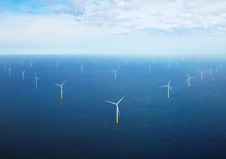 Windpark Borssele I en II gebouwd door Orsted