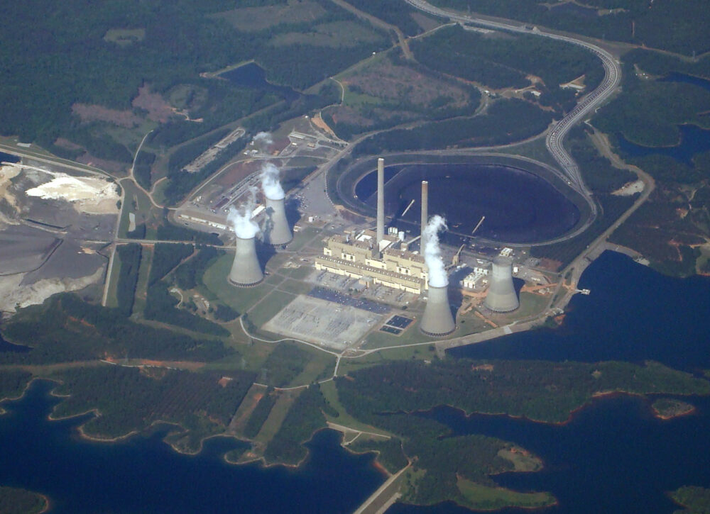 What are the five biggest coal power plants in the US?
