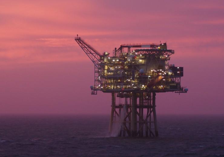 Solan field offshore platform - Premier Oil