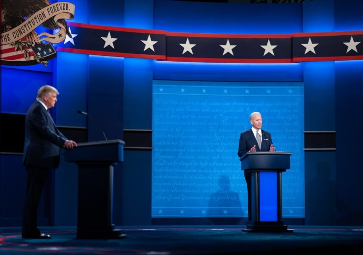 Trump Biden debate Flickr Adam Schultz Biden for President