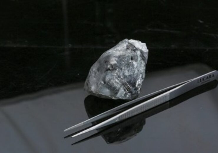 Lucara Diamond Corp--Lucara Recovers 998 Carat Diamond fom the K