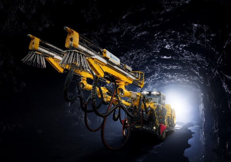 Front impression of a commercially ready Avatel™ unit in an underground mine