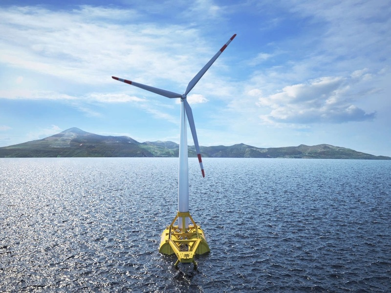 DemoSath Floating Offshore Wind Power Pilot Project