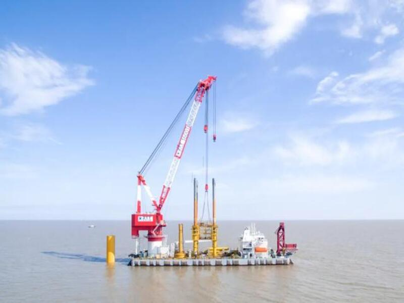 Image 1-Jiangsu Rudong (H6, H10) Offshore Wind Power Project_China