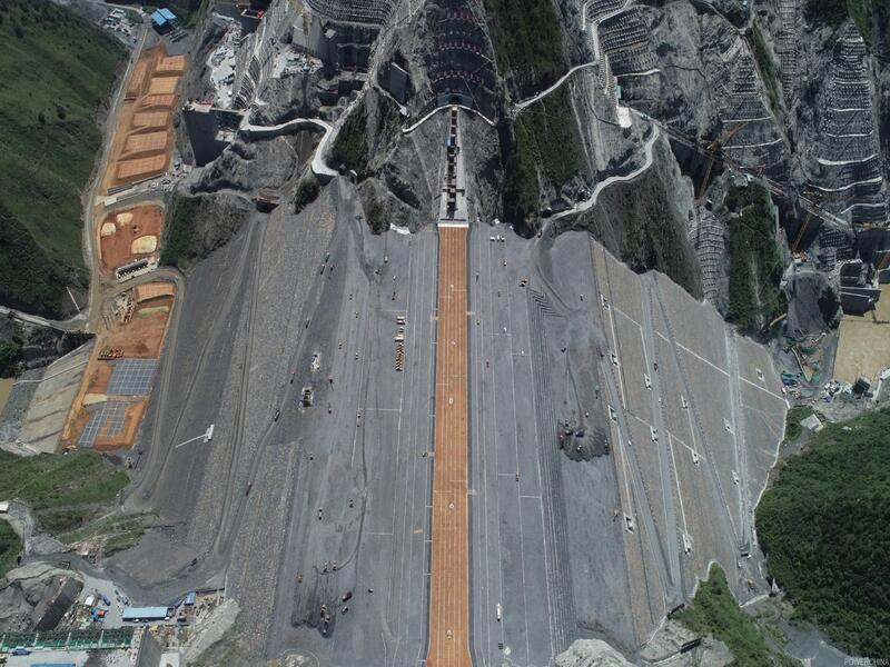 Lianghekou Hydropower Station