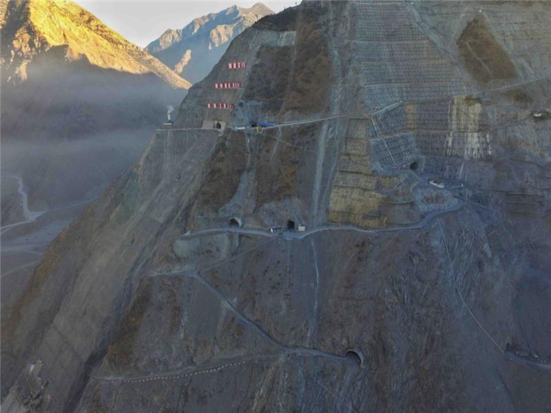 Image 3-Lianghekou Hydropower Station_China