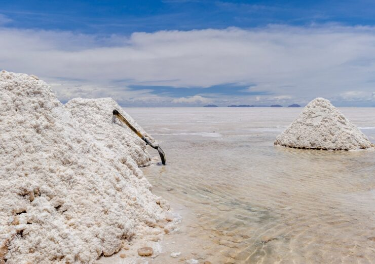 Lithium - Salar de Uyuni - Bolivia