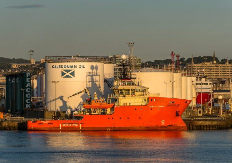 North Sea Aberdeen - colftcl - Shutterstock 715230085