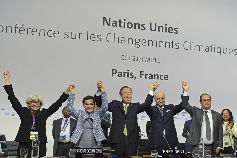 Paris Agreement climate goals