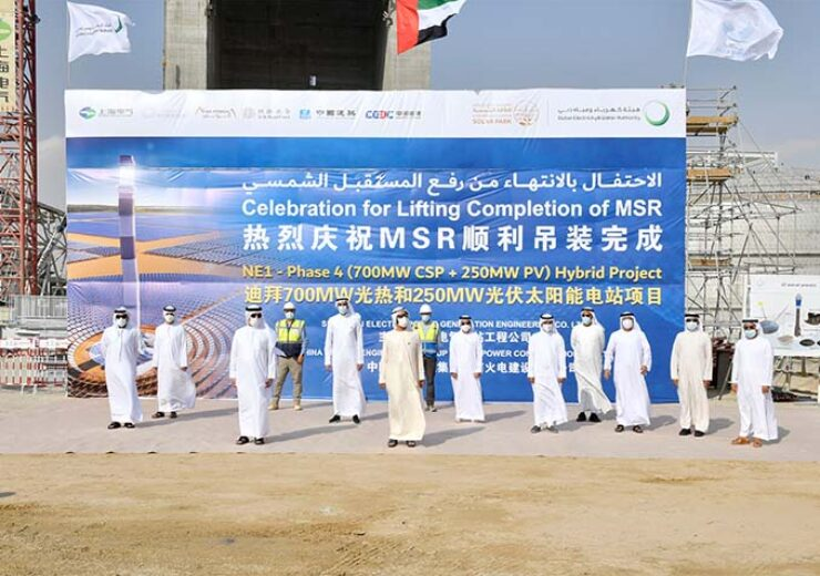 UAE begins 800MW third phase operations at MBR solar park
