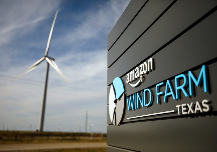 Amazon wind farm Texas