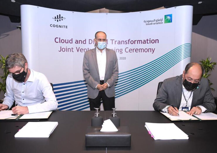 Aramco and Cognite_JV Signing Ceremony