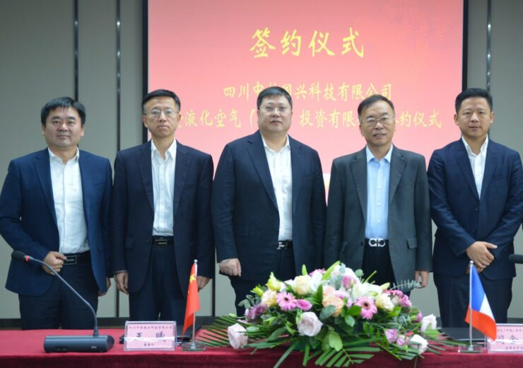 Air Liquide China signs agreement with Sichuan China National Nuclear Guoxing Technology
