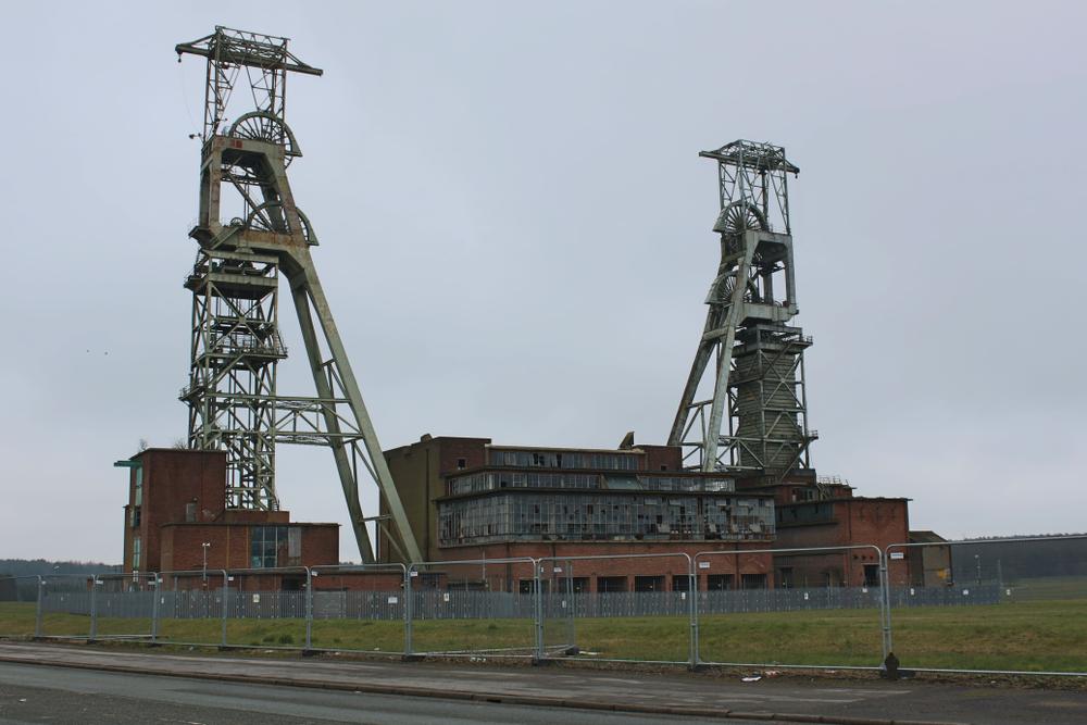 UK abandoned coal mines
