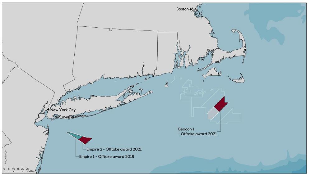 equinor bp offshore wind