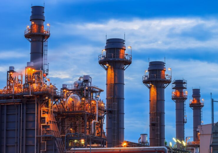 Gas power plant - Factory_Easy - Shutterstock 559380220