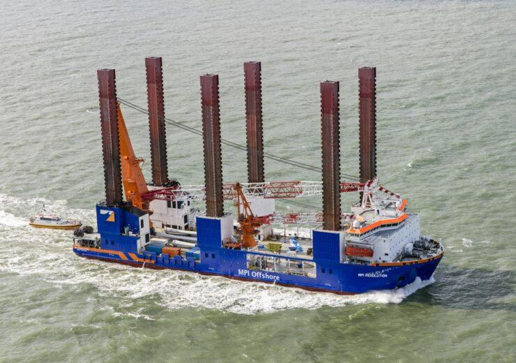 Offshore Installation vessel MPI Resolution
