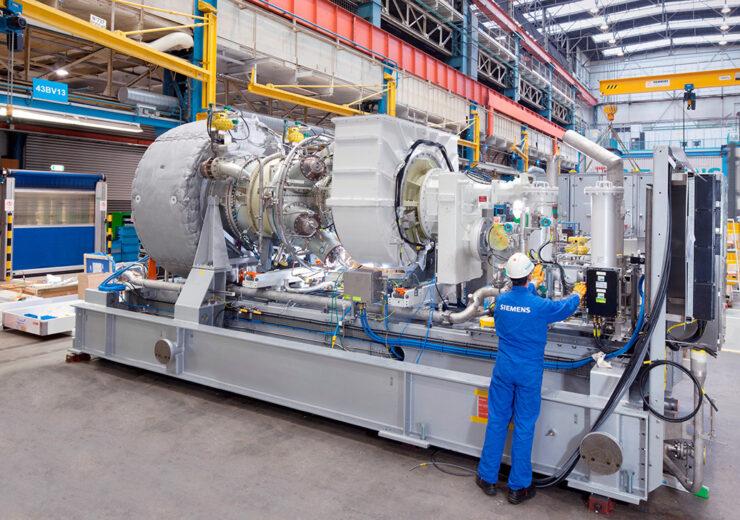 Gasturbine SGT-400 / SGT-400 gas turbine