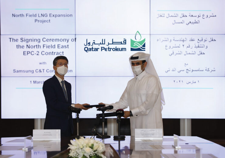 Qatar Petroleum awards $2bn EPC contract to Samsung C&T for NFE project