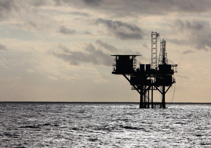 Silhouette,Of,An,Oil,Production,Platform,Deep,In,The,Gulf