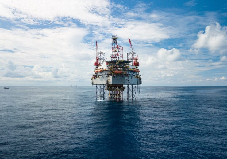 Offshore oil rig - James Jones Jr - Shutterstock 1806627409