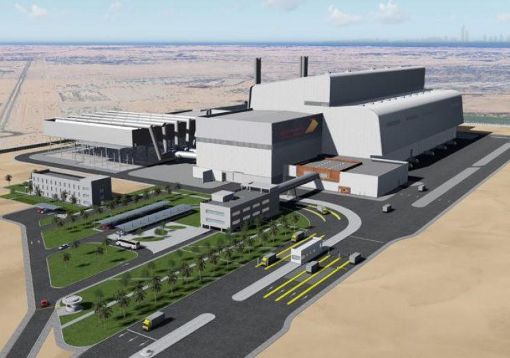 Render for Dubai Centre for Waste Processing