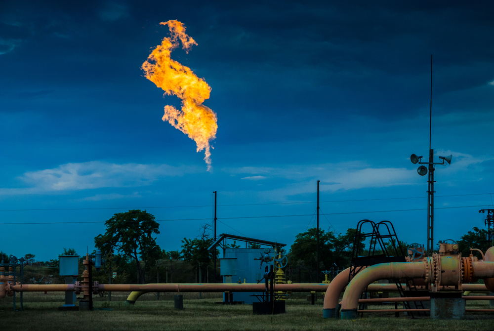 Americans natural gas flares