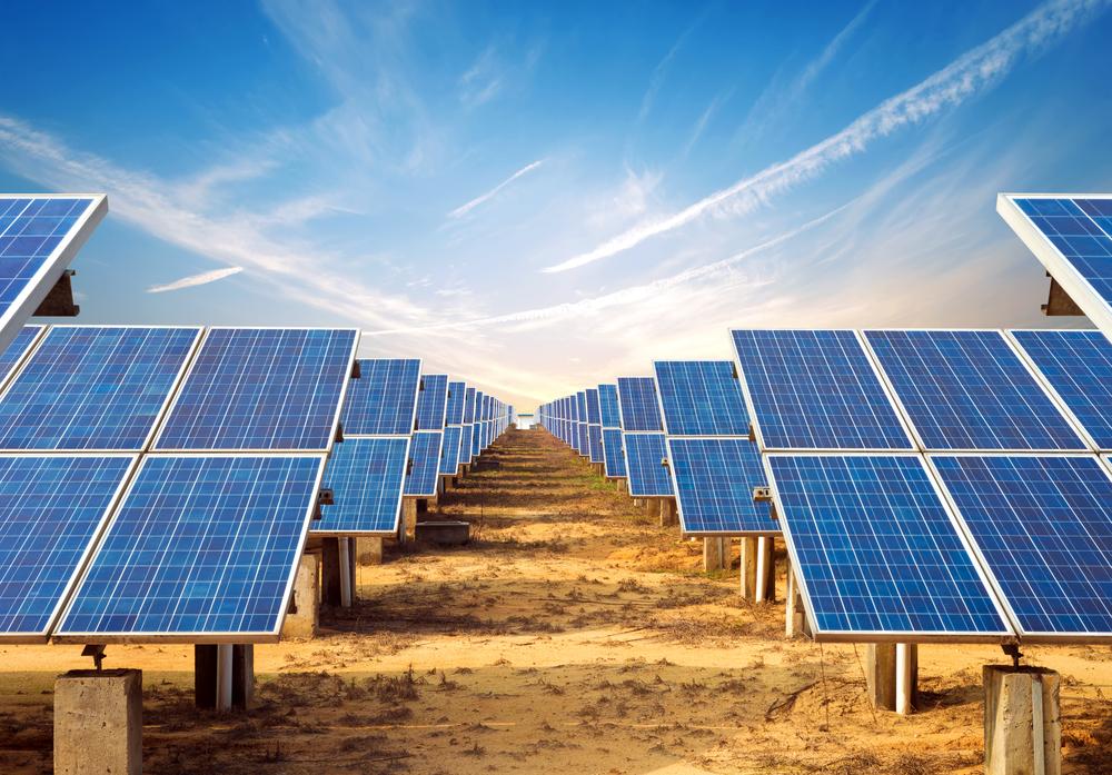 Largest solar plants China