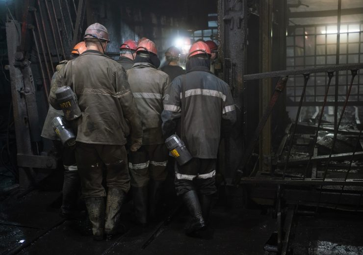 Miners,In,An,Underground,Mine.,Coal,Industry