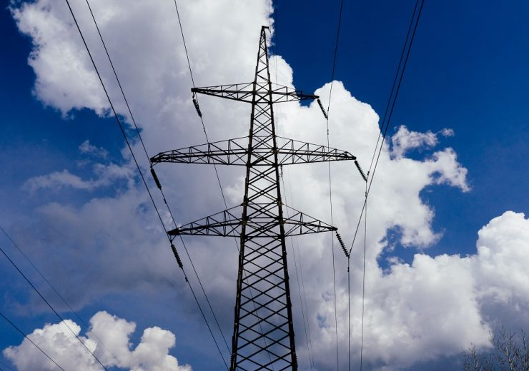 Hvdc,Tower,Against,The,Blue,Sky
