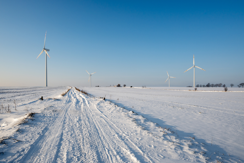 Texas wind farms