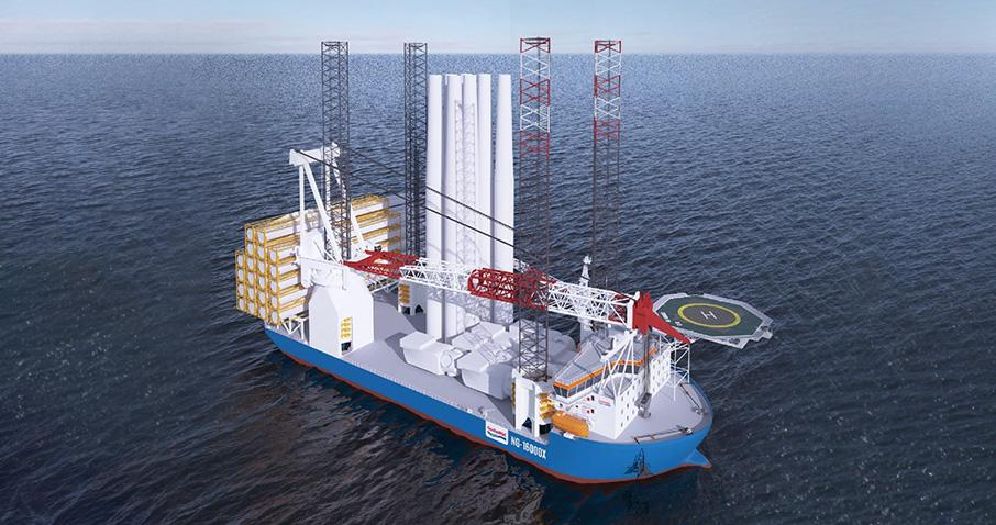 Daewoo Shipbuilding & Marine Engineering wins order for large offshore wind turbine installation ship