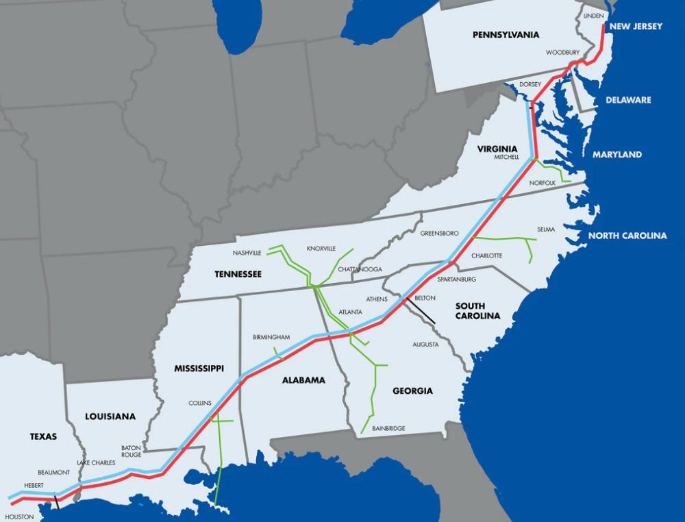 colonial pipeline restart
