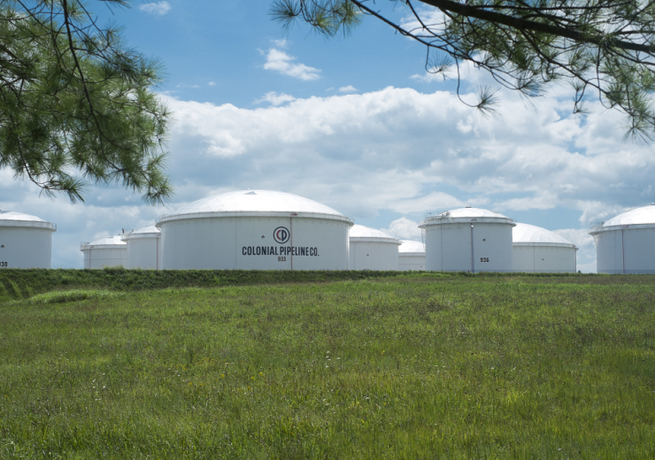 Colonial Pipeline storage tanks 2