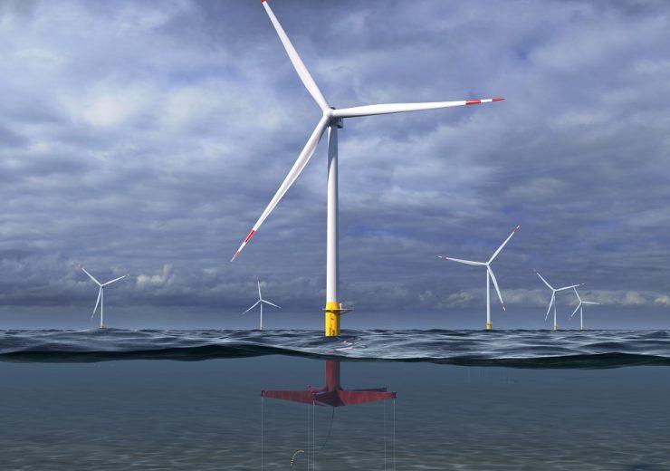 GE floating wind turbine design ATLANTIS - Glosten - CROP