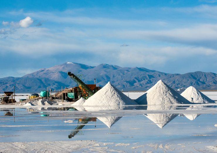 Salinas,Grandes,On,Argentina,Andes,Is,A,Salt,Desert,In