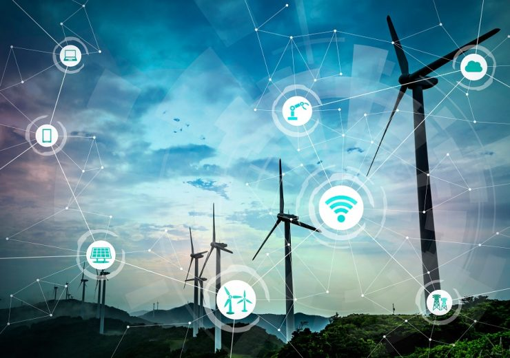 Renewable,Energy,And,Internet,Of,Things.,Smart,Factory.,Smart,Energy.