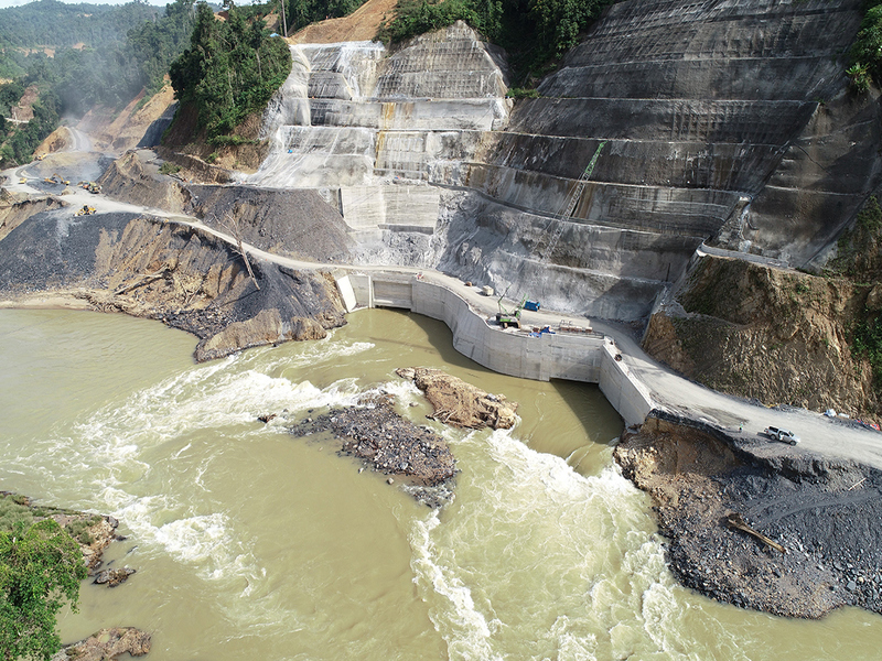 Image 1-Baleh Hydroelectric Power Project