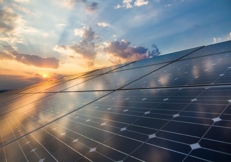 Photovoltaic,Cells,On,The,Background,Of,A,Sunset