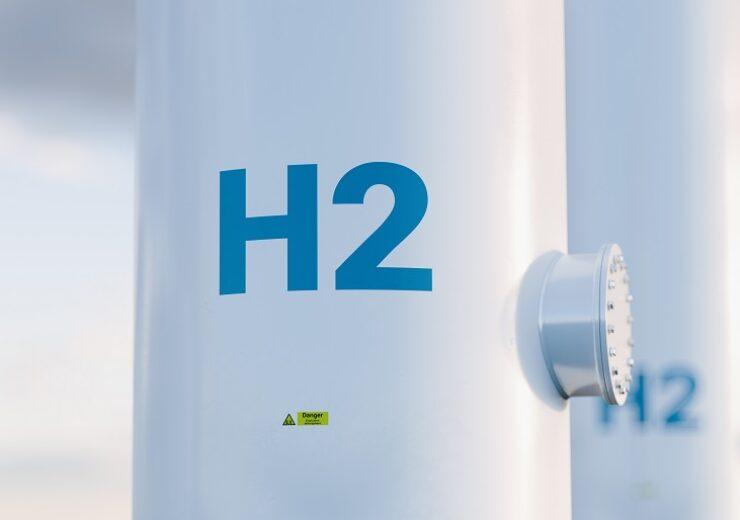 Hydrogen,Storage,Tank,Concept,In,Beautiful,Morning,Light.,3d,Rendering.